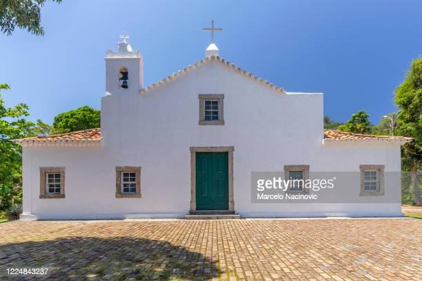 church of sao francisco xavier, niteroi, rio de janeiro, brasil - marcelo nacinovic stock pictures, royalty-free photos & images