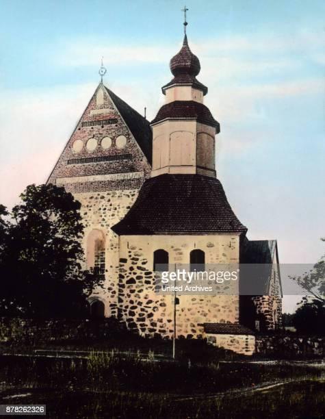 Church of Sauvo Finland 1920s