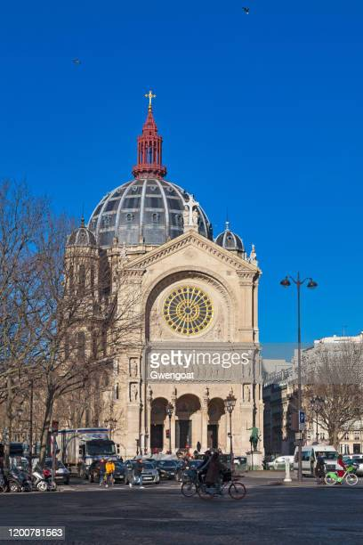 church of st. augustine in paris - gwengoat stock pictures, royalty-free photos & images