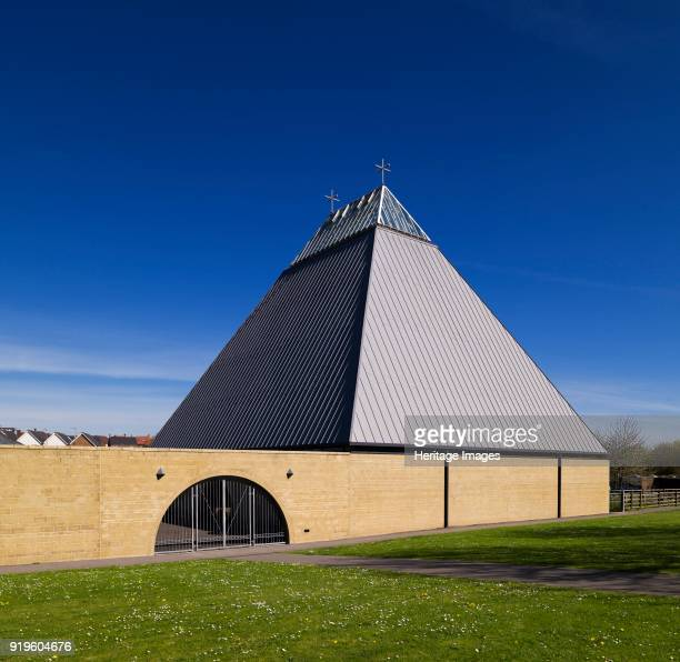 Church of St Bede Popley Way Basingstoke Hampshire 2011 General view of the church designed by Robert Maguire with JKBS Architects and built in...