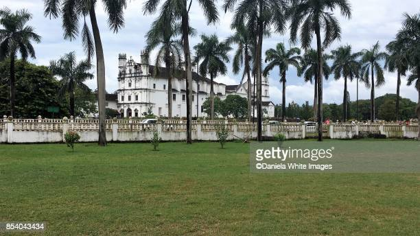 church of st. francis of assisi, old goa, india - panjim stock photos and pictures