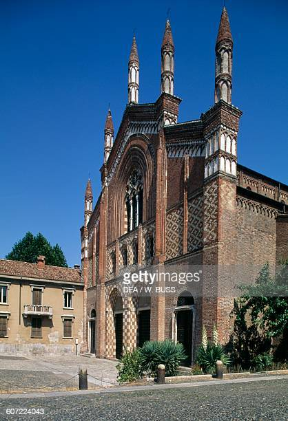 Church of St Francis Pavia Lombardy Italy 13th century