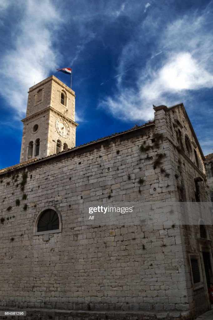 Church of st ivan in sibenik croatia stock photo getty images church of st ivan in sibenik croatia stock photo publicscrutiny Image collections