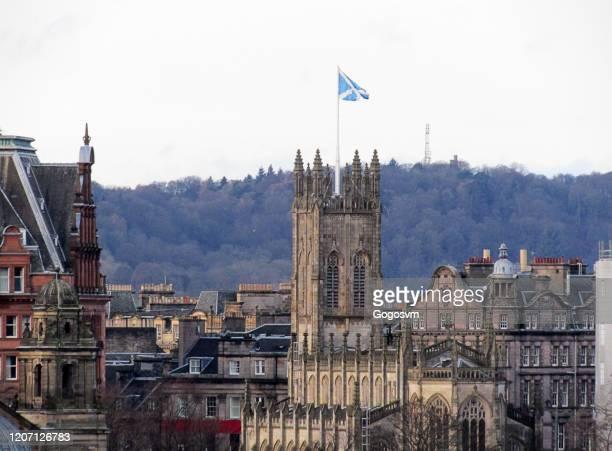 church of st john the evangelist, edinburgh, scotland - perth scotland stock pictures, royalty-free photos & images