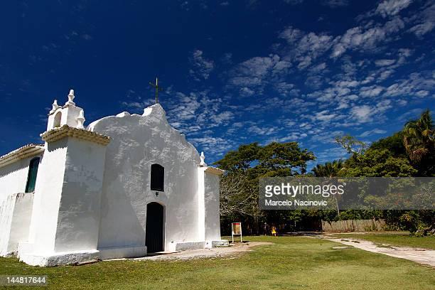 church of st. john trancoso - trancoso imagens e fotografias de stock