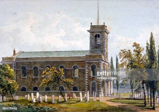 Church of St Matthew Bethnal Green London 1817
