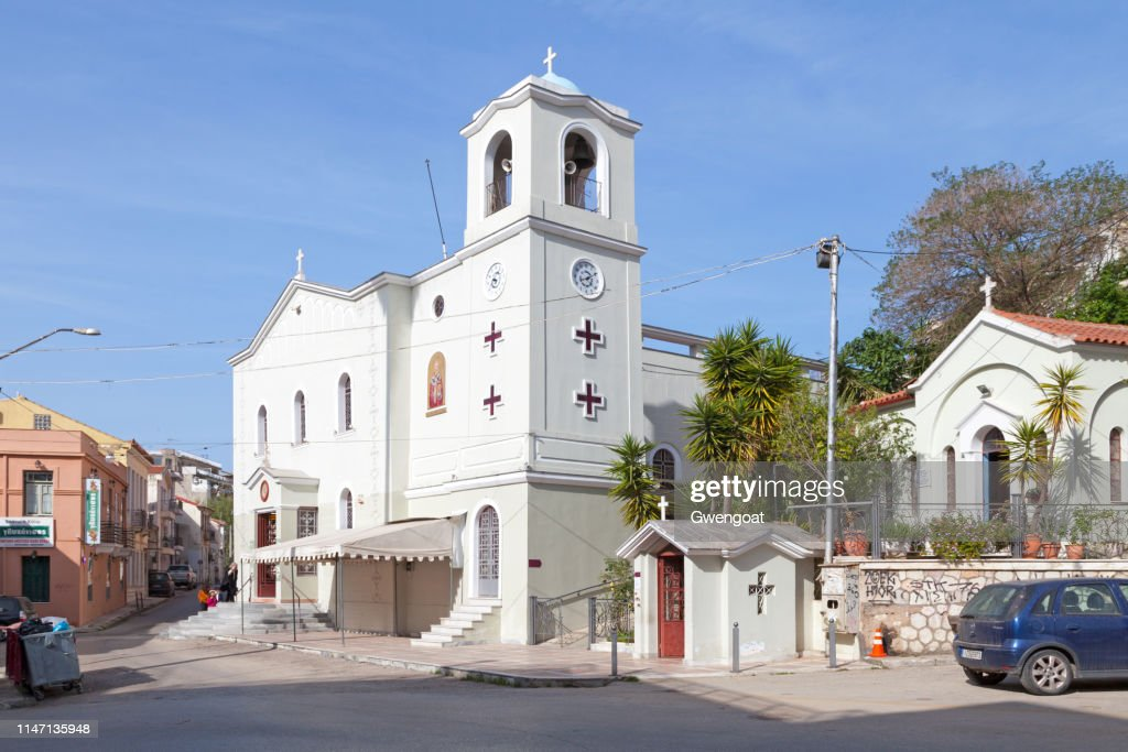 Church of St. Nicholas in Patras : Stock Photo