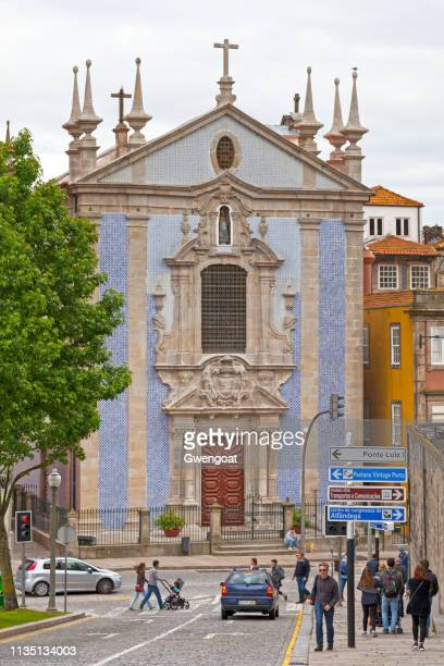 church of st. nicholas in porto - gwengoat stock pictures, royalty-free photos & images