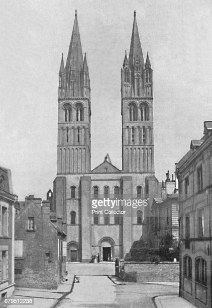 Church of St Stephen Caen' 1902 From Social England edited by HD Traill DCL and J S Mann MA [Cassell and Company Limited London Paris New York...