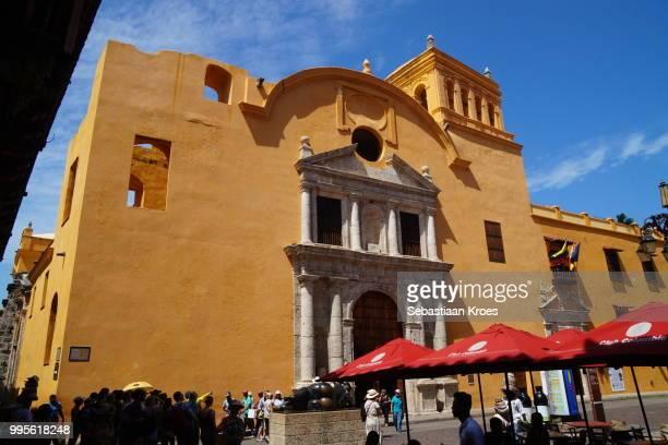 Church of the Convento de Santo Domingo, Square and Statue of Botero, Cartagena, Colombia
