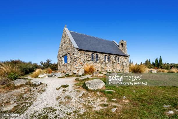 Church of the Good Shepherd, Lake Tekapo, Mackenzie Basin, South Island, New Zealand