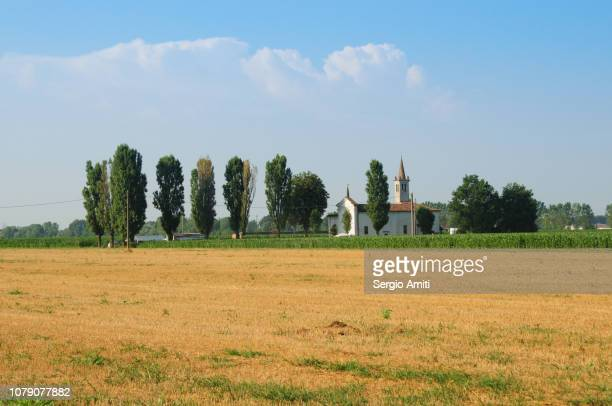 church of the holy mary of the fields - cremona foto e immagini stock