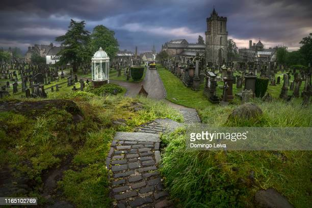 church of the holy rude, stirling - spirituality stock pictures, royalty-free photos & images