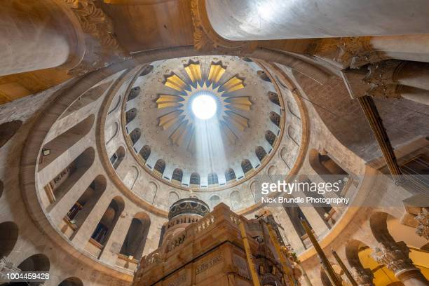 church of the holy sepulchre, jerusalem, israel - religious celebration stock pictures, royalty-free photos & images