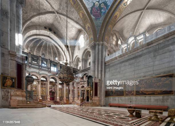 church of the holy sepulchre - jerusalem old city stock pictures, royalty-free photos & images