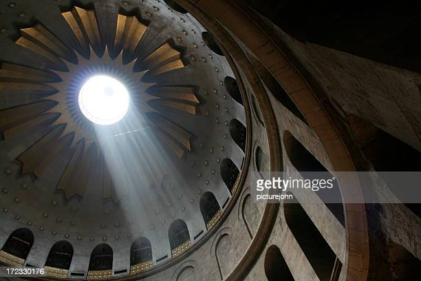 church of the holy sepulchre - stations of the cross stock pictures, royalty-free photos & images