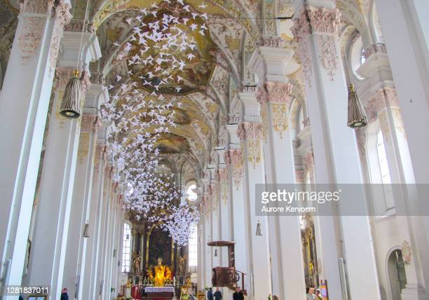 聖霊教会、ハイリグ・ガイスト=キルヒェ、ミュンヘン - kirche ストックフォトと画像