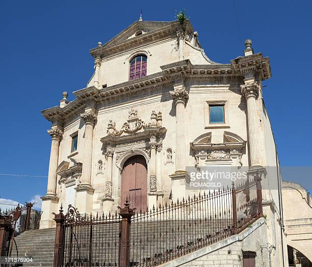 Chiesa delle Santissime Anime del Purgatorio, Ragusa Ibla, Sicily Italy