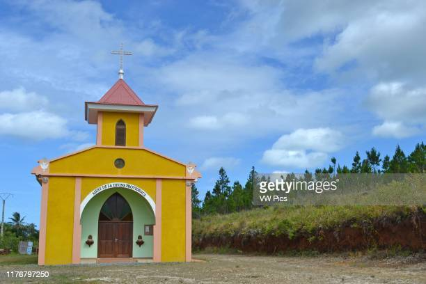Church of the Mother of Divine Providence Vao Isle of Pines New Caledonia South Pacific