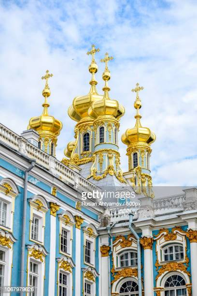 church of the resurrection in catherine palace - サンクトペテルブルク ストックフォトと画像
