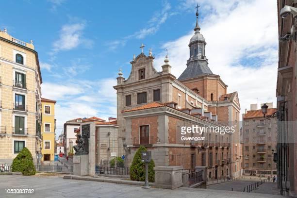 kerk van het sacrament in madrid - gwengoat stockfoto's en -beelden