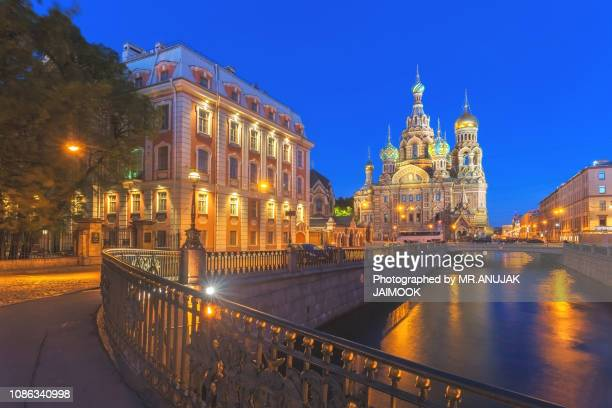 church of the savior on blood at st.petersburg, russia - jesus blood stock pictures, royalty-free photos & images