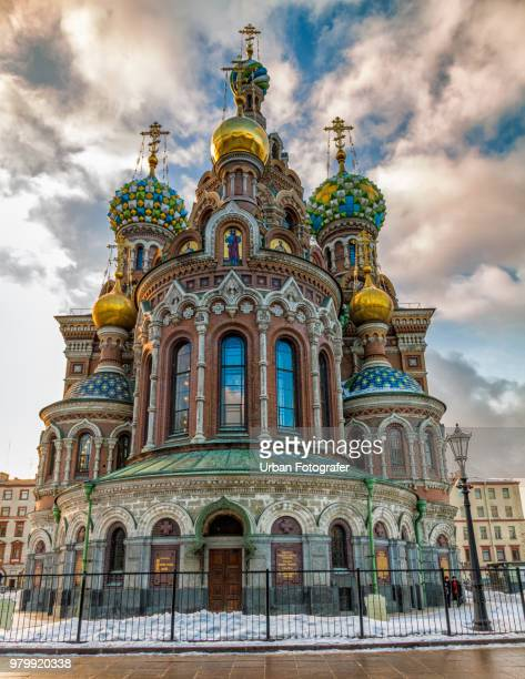 church of the savior on blood, saint petersburg, russia - neo classical stock pictures, royalty-free photos & images