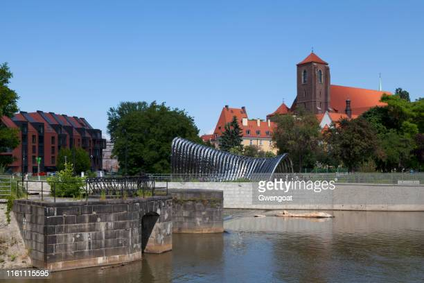 church of the st virgin mary in wroclaw - gwengoat stock pictures, royalty-free photos & images
