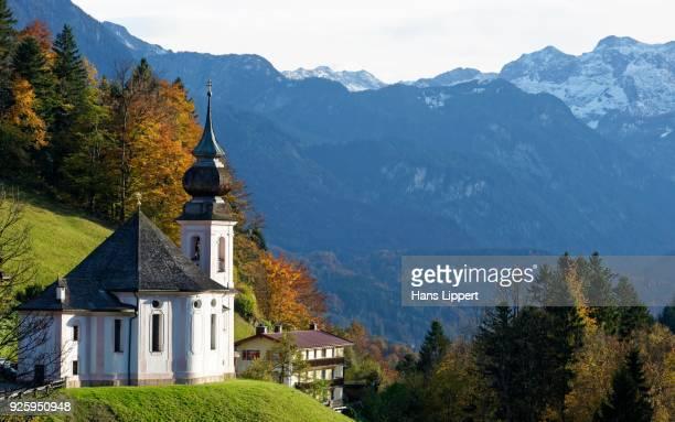 Church of the Virgin Mary, Berchtesgaden, Berchtesgadener Land District, Upper Bavaria, Bavaria, Germany