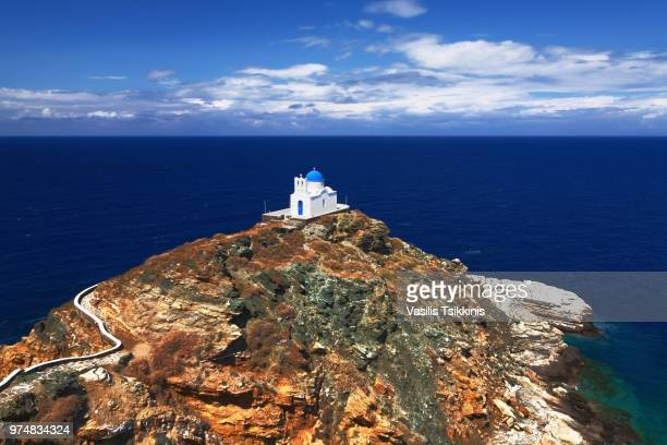 Church on island, Sifnos, Greece