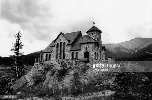 church on rocky hill top - faith rogers stock pictures, royalty-free photos & images