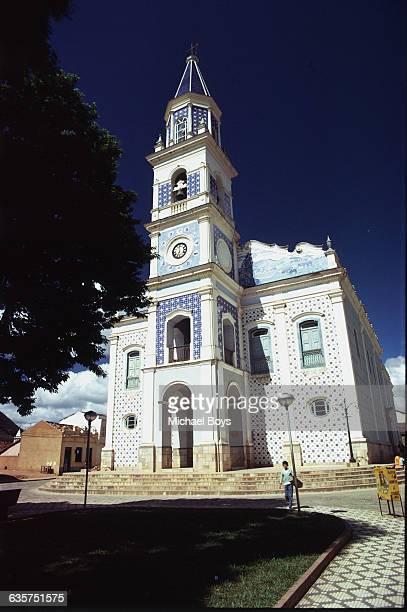 A church on the road from Sao Paulo to Ubatuba Brazil | Location Ubatuba coast Brazil