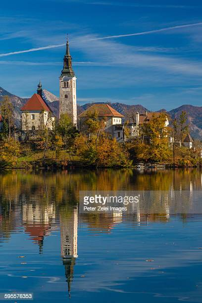 Church on the small island in Lake Bled