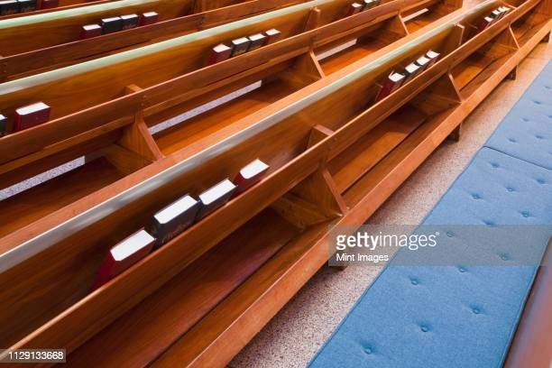church pews - chapel stock pictures, royalty-free photos & images