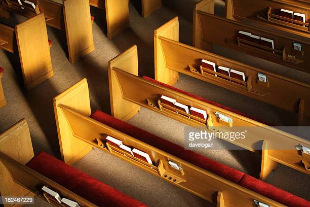 church pews - church stock pictures, royalty-free photos & images