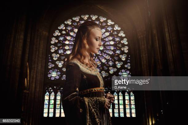 church - medieval stock photos and pictures
