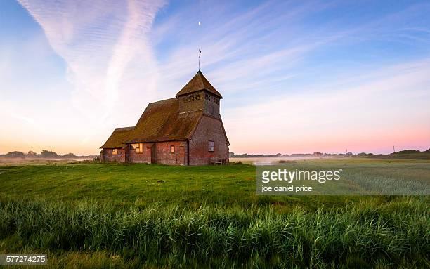 Church, Romney Marsh, Fairfiield, Kent, England