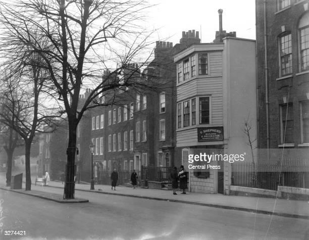 Church Row Hampstead north London