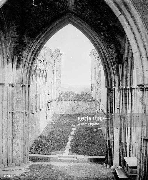 Church ruins at Cashell Tipperary Ireland