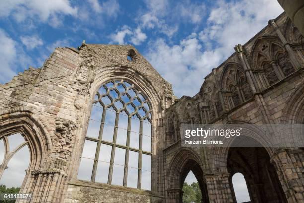 Church ruins at Holyrood Abbey, Edinburgh