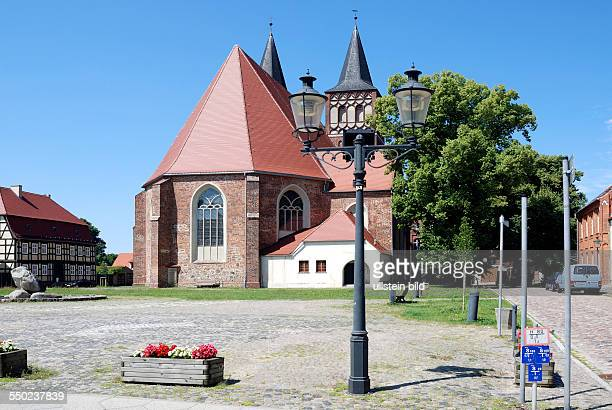 Church Saint Sebastian of Baruth in Brandenburg