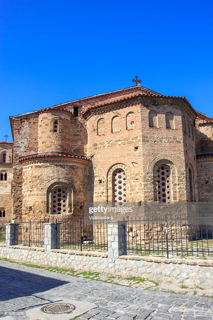 Church Saint Sophia, Ohrid lake, FYRM (Macedonia) : Stock Photo