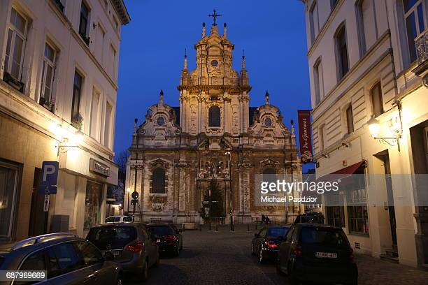 church St. Jean Baptiste in the city