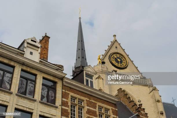 Church steeple of the Saint Peter's Church in Leuven, Belgium