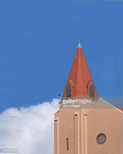 church steeple - 上部分 ストックフォトと画像
