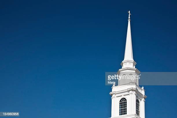 iglesia chapitel - aguja chapitel fotografías e imágenes de stock
