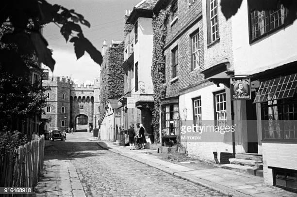 Church Street in Windsor Berkshire 3rd July 1944
