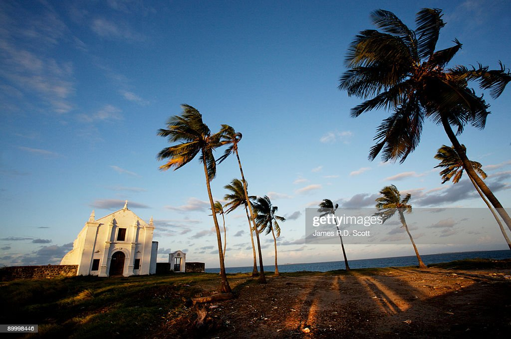 Church sunset of Santo Antonio : Stock Photo