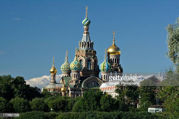 Kirche Unsere Saviour auf der Verschütteten Blutes in St. Petersburg
