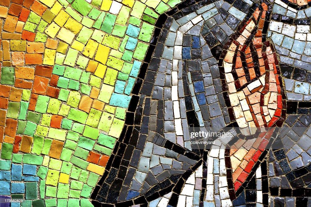 Church tiles : Stock Photo